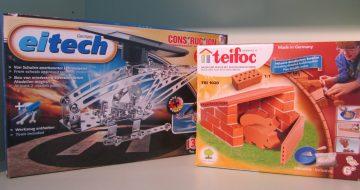 Solar Hubschrauber von Eitech und Schweinestall von Teifoc