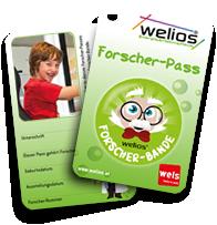 Forscherpass Welios