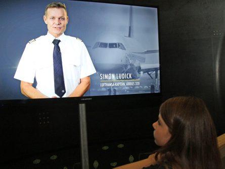 Zu Gast in der PilotInnen Lounge